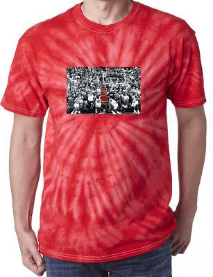 Tie-Dye RED Michael Jordan Chicago Bulls