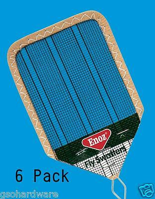 6pk NEW Enoz Wire Mesh Fly Swatter ...