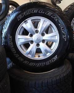"16"" Mitsubishi Triton Alloys and Tyres Toowoomba Toowoomba City Preview"