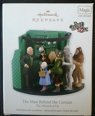 Hallmark: THE MAN BEHIND THE CURTAIN - The Wizard of Oz - Dated 2012 -