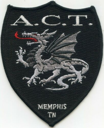 MEMPHIS TENNESSEE TN Anti Crime Team A.C.T. POLICE PATCH