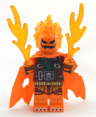 NEW LEGO WACK-O-LANTERN MINIFIG halloween minifigure jack pumpkin zombie monster