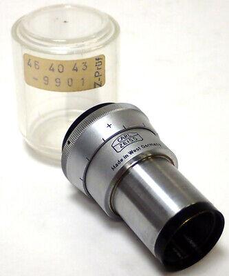 Carl Zeiss Kpl-w 10x Microscope Eyepiece 46 40 43-9901