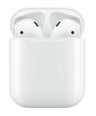 Apple AirPods 2nd Generation Wireless Earbuds W/ Wired Charging Case - MV7N2AM/A