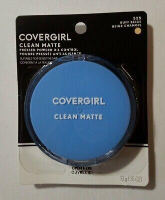 Covergirl Clean Matte Oil Control Pressed Powder #525 Buff -