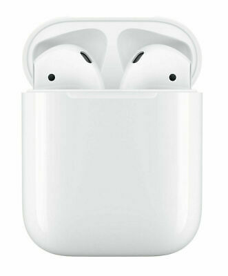 Apple AirPods 2nd Generation Wireless Earbuds with Charging Case - White