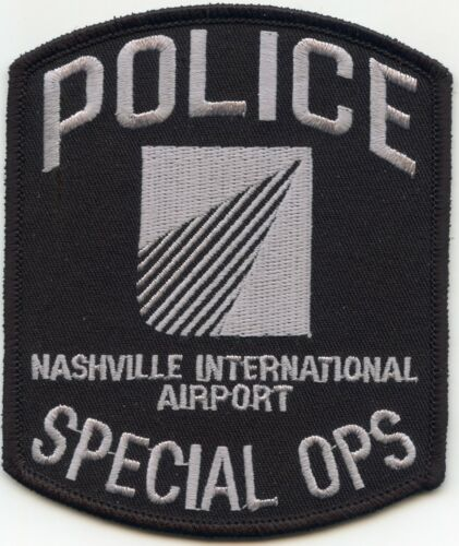 NASHVILLE TENNESSEE TN INTERNATIONAL AIRPORT SPECIAL OPS SWAT POLICE PATCH