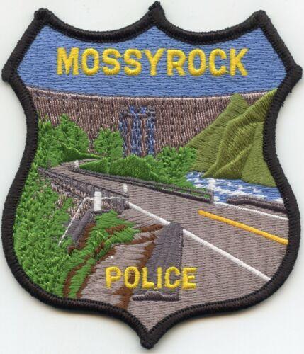 MOSSYROCK WASHINGTON WA POLICE PATCH