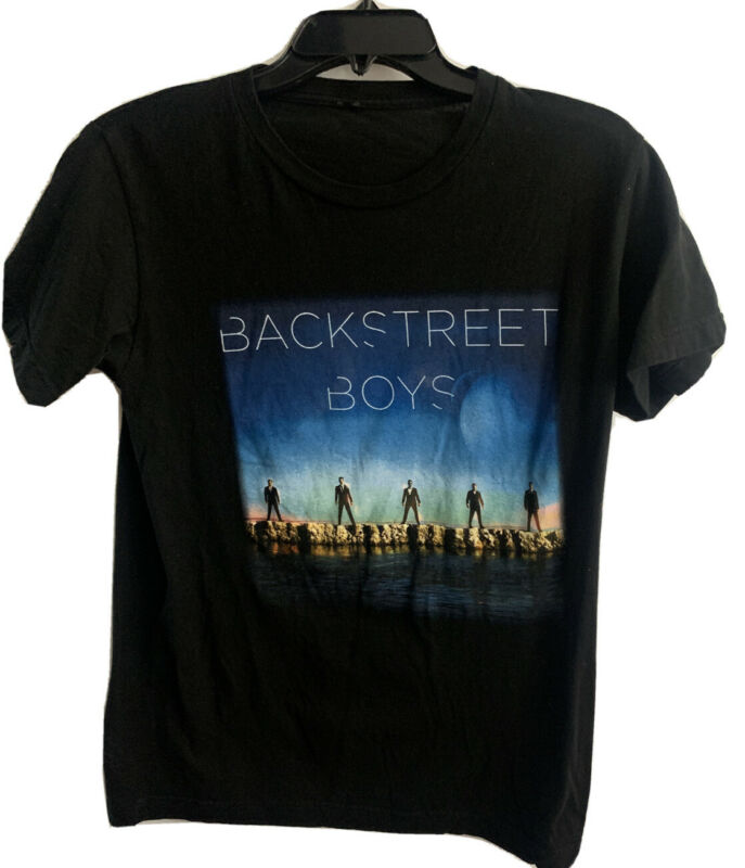 BACKSTREET BOYS 2013 US TOUR SHORT SLEEVE GRAPHIC T SHIRT SIZE SMALL