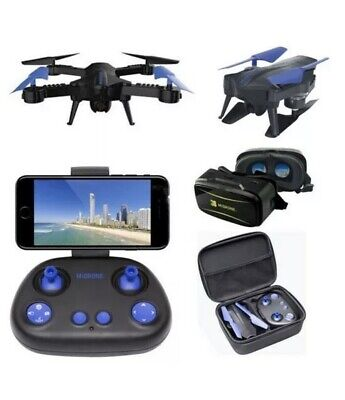 MIDRONE VISION 220 HD FPV WiFi DRONE QUADCOPTER WITH VR GOGGLES UNOPENED