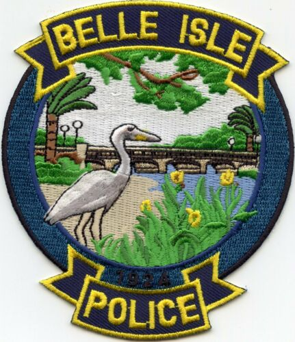 BELLE ISLE FLORIDA FL POLICE PATCH