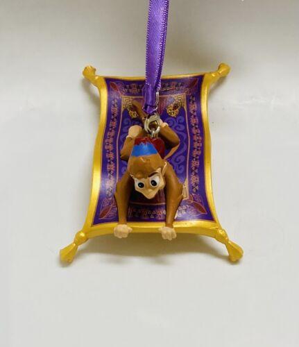 Disney Parks Aladdin - Figural Abu on Magic Carpet Christmas Holiday Ornament