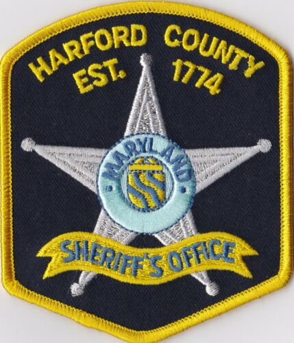 Harford County Sheriff´s Office Maryland Patch