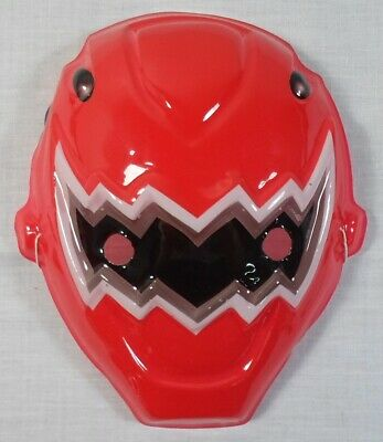 POWER RANGERS RED RANGER 8'' MASK FOR KIDS HALLOWEEN PROP NEW IN QUANTITY C