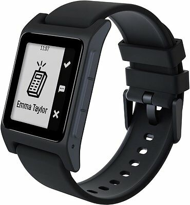 Pebble 2 SE Fine fettle Tracker Bluetooth Smartwatch for Android or iOS (Black)