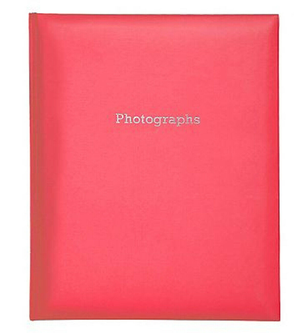 Deluxe Large RED Self Adhesive Photo Album Hold Various Sized Photos  50 Pages