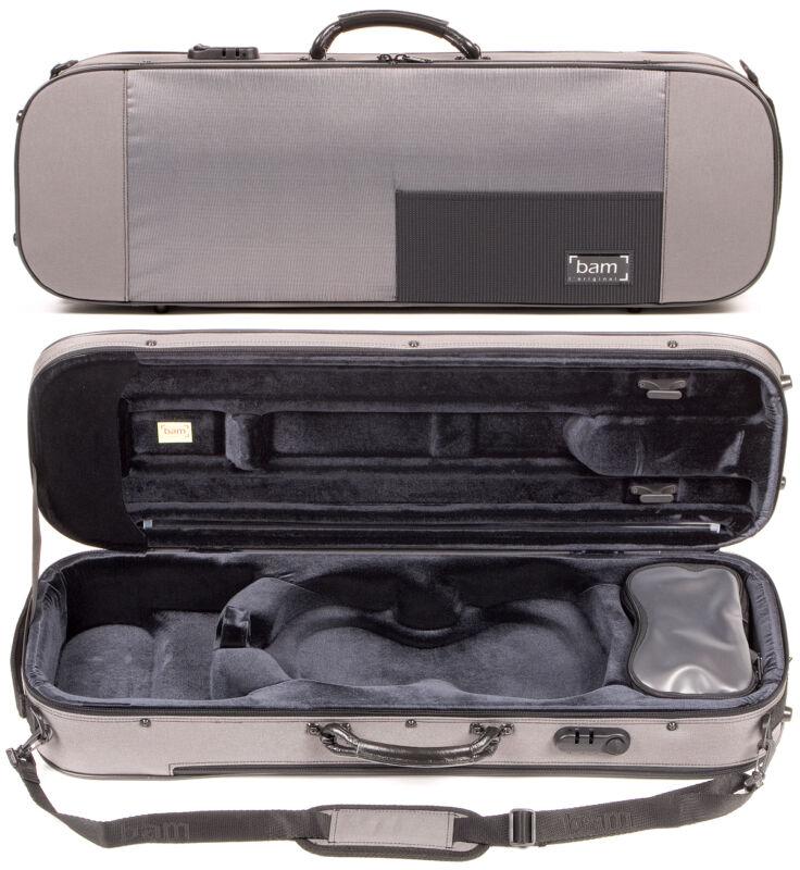 Bam France Stylus 5001S Grey 4/4 Violin Case - AUTHORIZED & PROFESSIONAL DEALER!