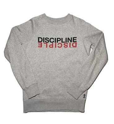 Ron Dorff Mens Discipline Pullover Sweatshirt sz S Small Gray GUC!