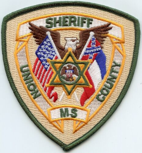 UNION COUNTY MISSISSIPPI MS SHERIFF POLICE PATCH