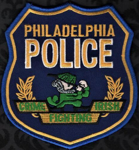 👍👍 Philadelphia Pennsylvania Police Shoulder Patch  Crime Fighting Irish
