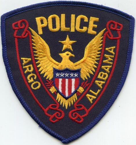 ARGO ALABAMA AL POLICE PATCH