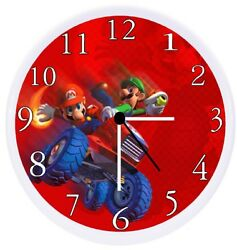 Mario Kart Wall Clock