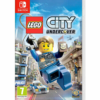 LEGO City Undercover (Nintendo Switch) Brand New