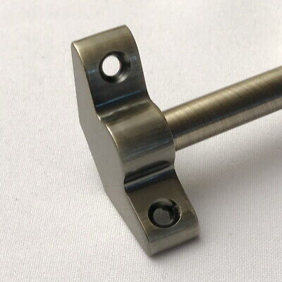 PLAIN BRACKET STAIR RODS ANTIQUE BRASS 3/8 x 28.5 INCH (R02PB) Antique Stair Rods