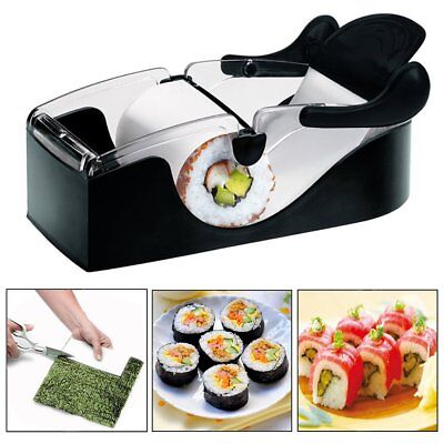 Kit sushi maker perfect roll arrotola maki macchina per involtini cucina party