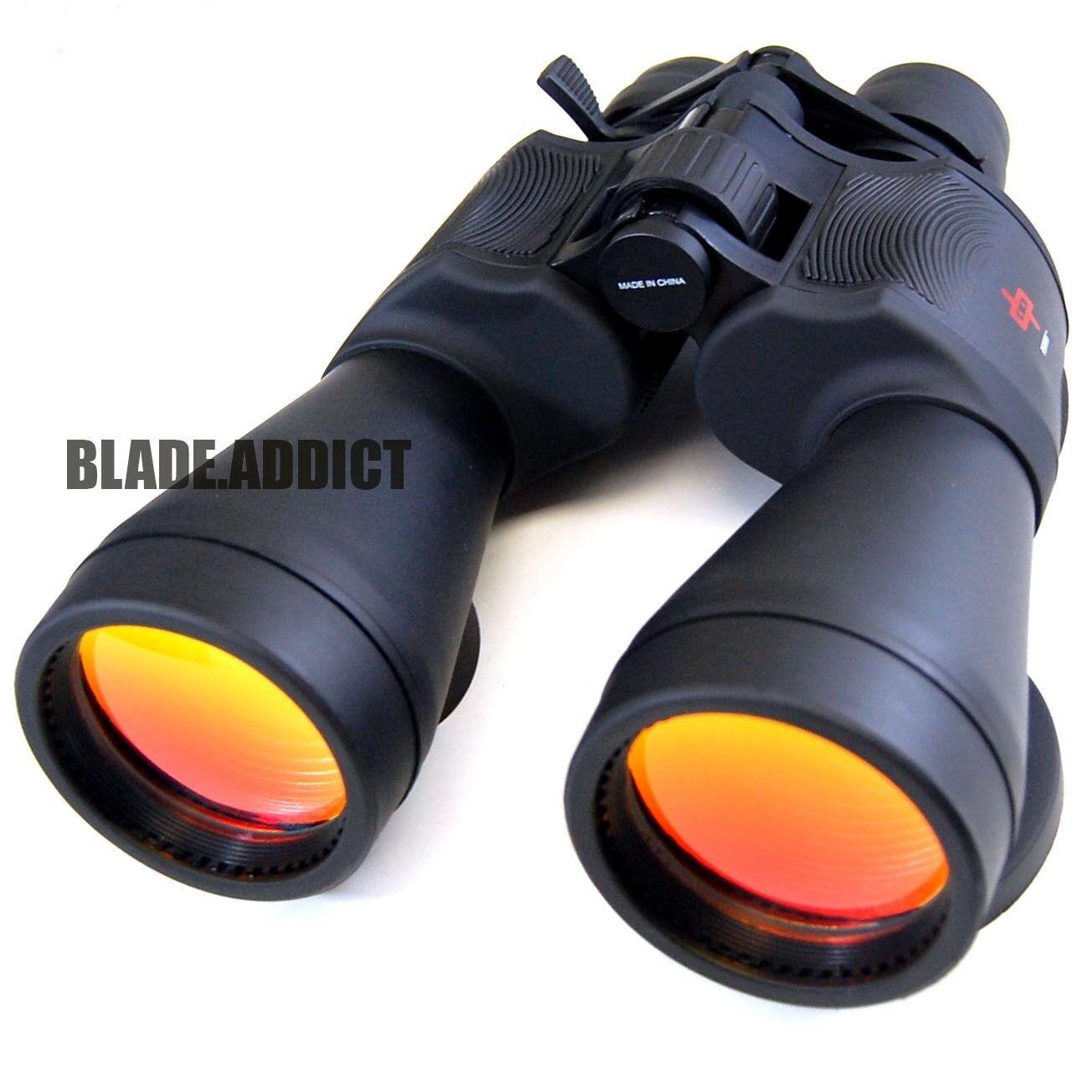 Day / Night 20-50x70 Military Zoom Powerful Binoculars Optics Hunting Camping