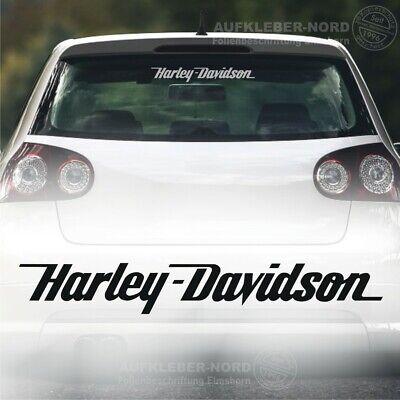 harley davidson motorcycles x2 van decals size 275mm x 365mm wall art
