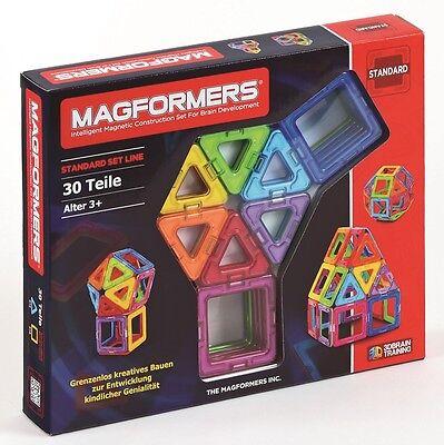 MAGFORMERS - 274-07 Standard Set 30 Magnet - Konstruktionsmaterial