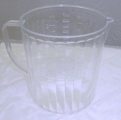 "original Heimag Rührfix Ersatzbecher, Messbecher Modell ""C"", ein Liter"