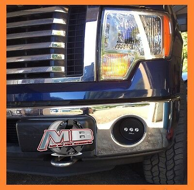 Plug & Play 2006-2014 Ford F150 Putco LED Driving Bumper Fog Lights Left+Right Putco Driving Lights