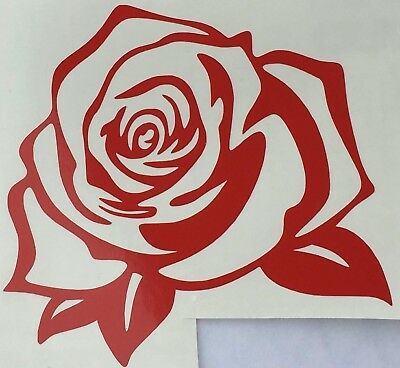 *Color & Size Choice* Rose Garden Thorn Flower Vinyl Decal Sticker Car Window  ()