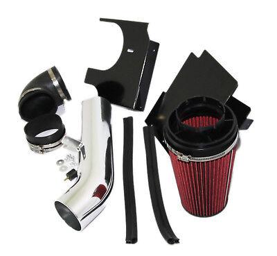RED Cold Air Intake Kit+Heat Shield fit 99-06 GMC Sierra 1500 2500 1500HD 2500HD (2500 Air Intake Kit)