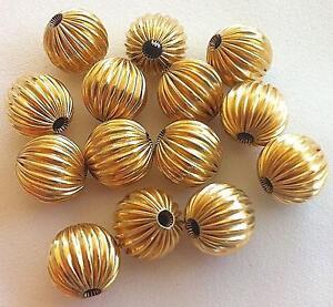 14k Gold Beads eBay