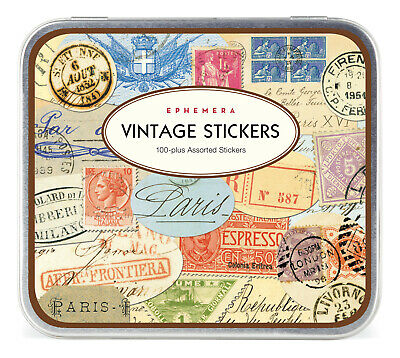 Cavallini & Co. Ephemera Decorative Label Sticker Set