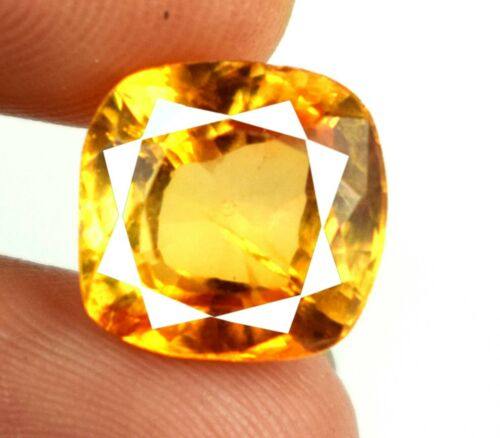Easter Sunday 7.90 Ct Brown Axinite Gemstone Cushion Natural Certified A15501