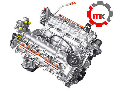 Mercedes X166 GLS 500 4-matic 456PS M278928 Motor Generalüberholung 4,7 M278.928