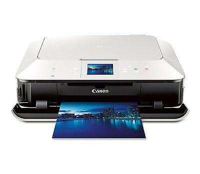 NEW CANON PIXMA MG7120 Wireless All-In-One Color Cloud Printer White