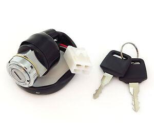 Honda Ignition Switch - Square Plug - CB350F CB500K CB550 CB750K - 40-37600