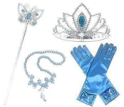 Princess Cinderella Dress up Party 4-Piece Accessories Gift Set](Princess Accessories)