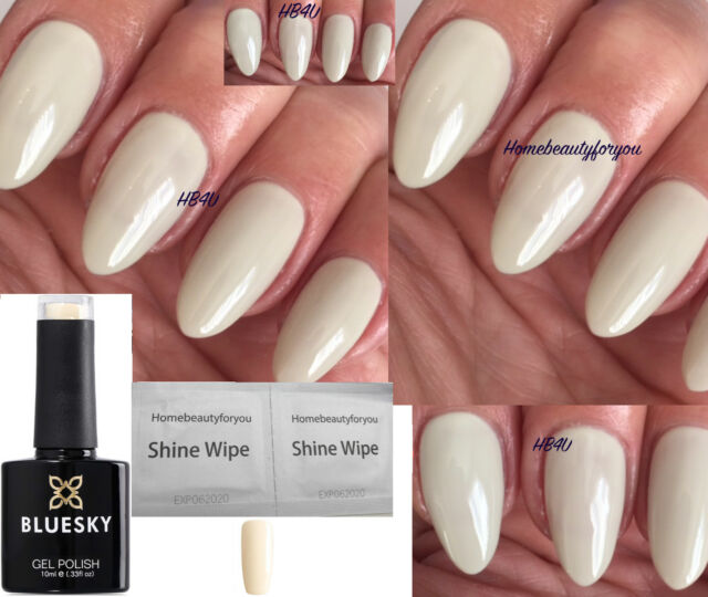 Bluesky 80533 Cityscape Ivory Cream Light Beige Nail GEL Polish LED ...