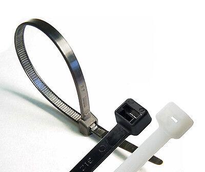 plastik kabelbinder lang und breit xl kabelbinder bez ge extra schwerlast ties ebay. Black Bedroom Furniture Sets. Home Design Ideas