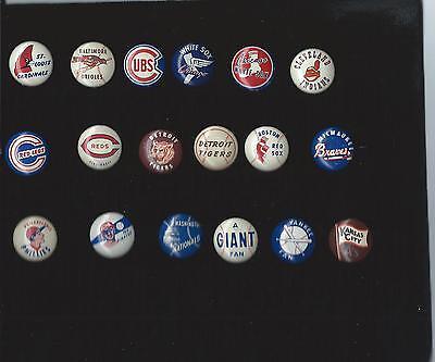 1950's Baseball Pin Boston Red Sox