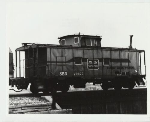 Vtg 1986 Real Photo SCL / L & N Railroad Family Lines Caboose 20823 Dayton, Ohio