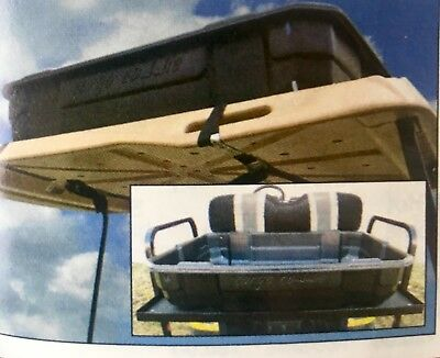 Box Utility Cart - Cargo Caddie Golf Cart Utility Box