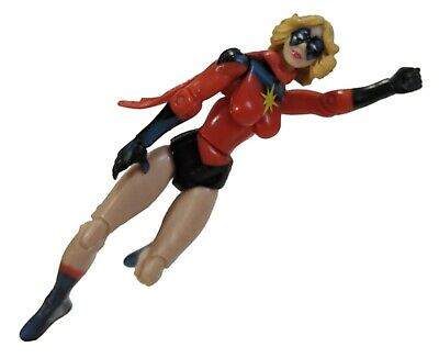 """Marvel Universe Ms. Marvel 3.75"""" inch Action Figure LOOSE #022 Warbird Classic"""