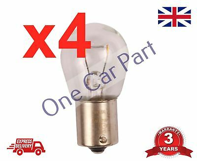 4 x 382 Brake Light Stop Indicator Tail Bulbs Reverse Car Auto Van Bulb 12v 21w